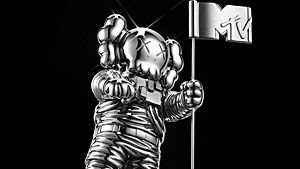read more about kaws moonman