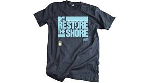 Help 'Restore The Shore' With A New Kind Of T-shirt Time