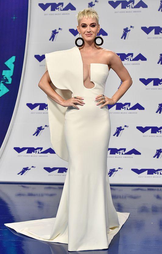 Serayah VMAs Empires White Dress