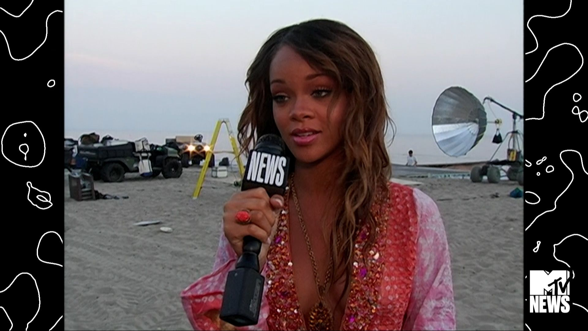 Interview Rihanna S Always Been An Artist 2005 Mtv