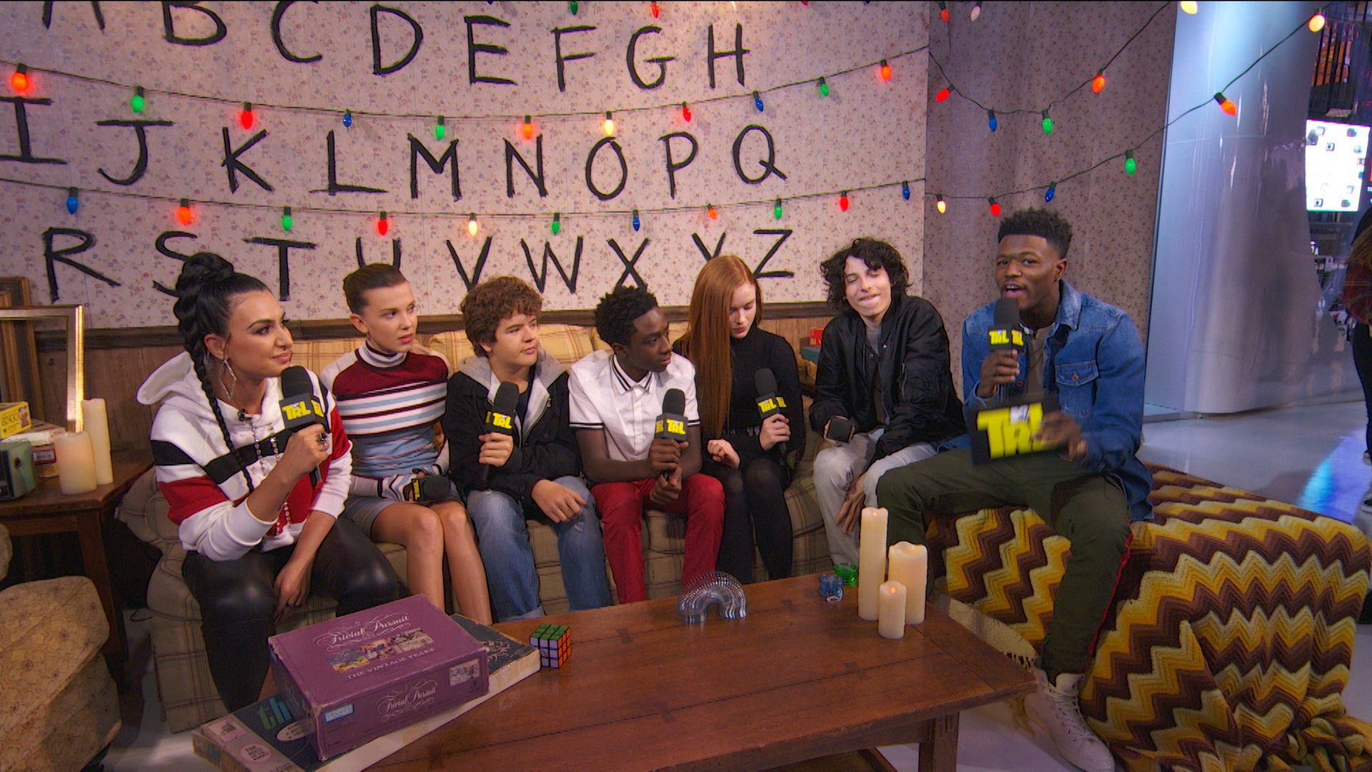 Stranger Things Cast Answer Requestions Trl Video Clip Mtv