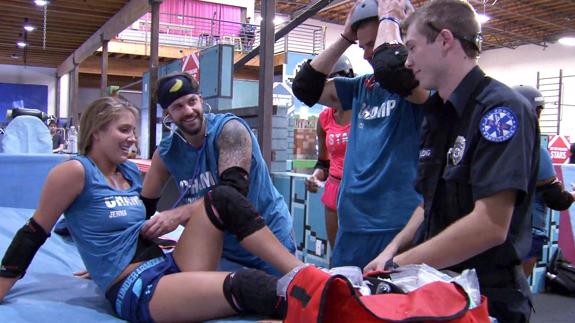 The Challenge: Champs vs. Stars - Parkour All Obstacles   MTV