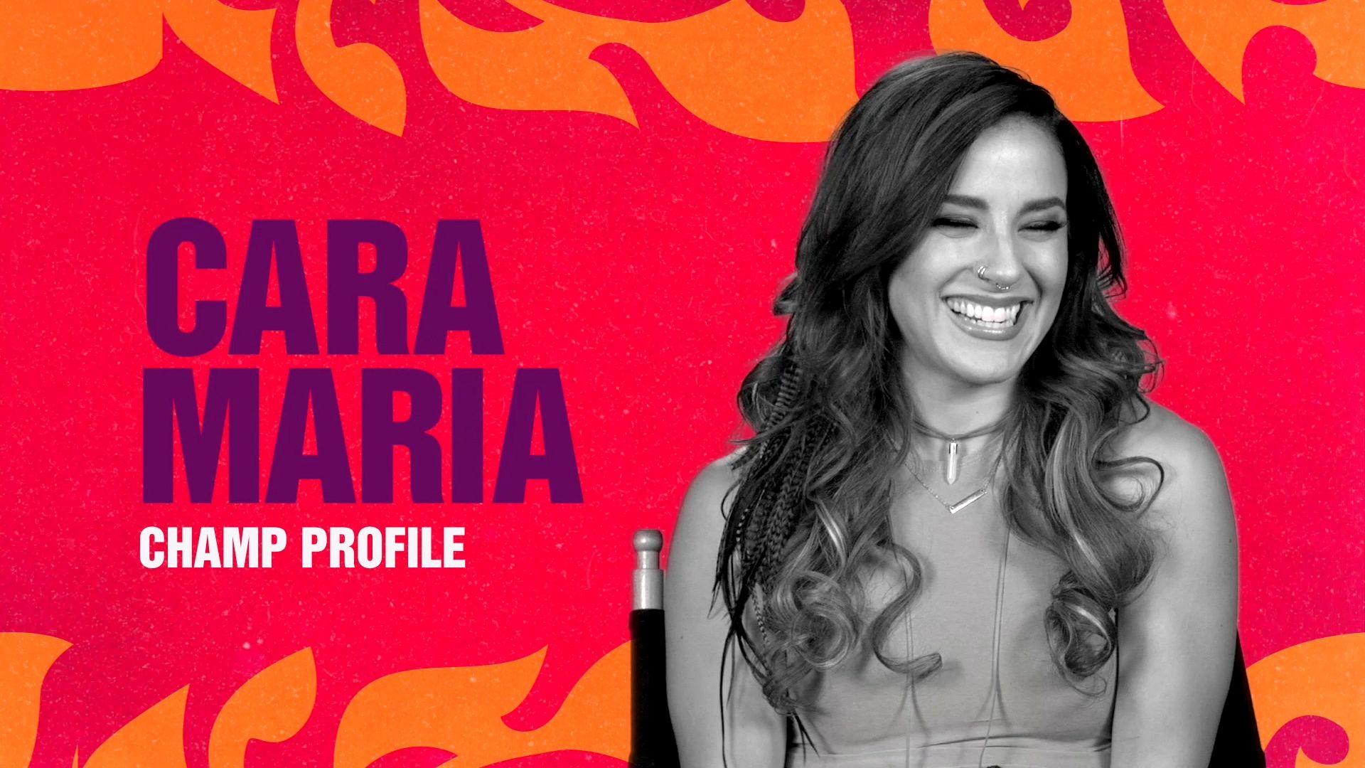 Bonus - Champ Profile: Cara Maria - The Challenge ...