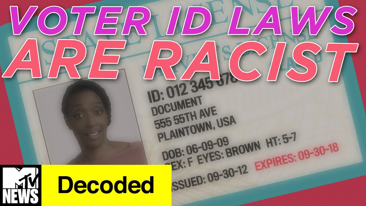 Decoded - How Voter ID Laws Explain Structural Racism | MTV