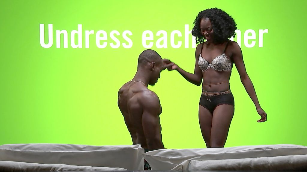 Oh We Have To Do That Now These Couples Are About To Get - Awkward video shows strangers undressing eachother