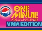 One-Minute Lyrics Challenge | VMA Edition