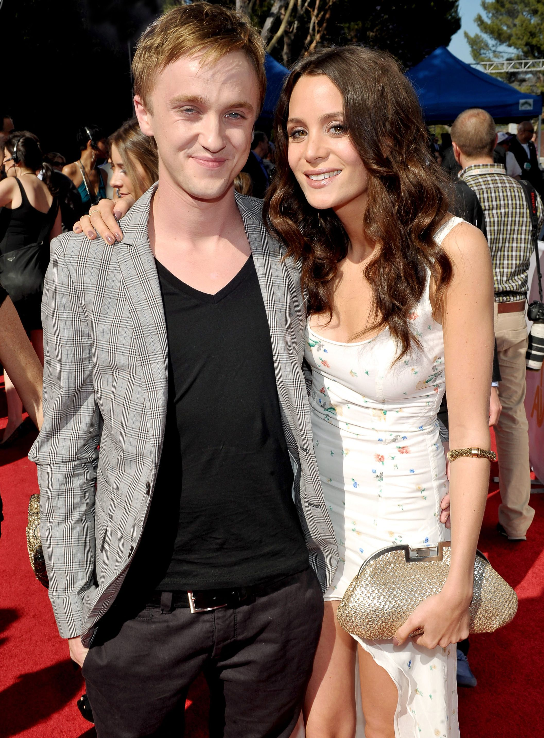 tom felton and jade mtv movie awards 2011. Tom Felton and Jade Olivia