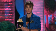 Justin Bieber Wins Best Jaw-Dropping Moment