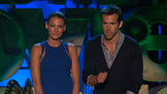Ryan Reynolds, Blake Lively Present Best Kiss