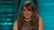 Emma Stone Wins Best Comedic Performance