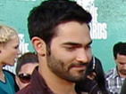 Red Carpet Report: Tyler Hoechlin and Sinqua Walls