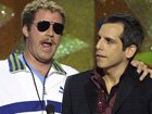 "Will Ferrell Coaches Ben Stiller On His 2001 Acceptance SpeechWhen Stiller's speech goes south, Ferrell storms the stage and demands a redo, reminding him to think ""gratitude, not attitude"" while on stage."