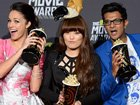 2013 Movie Awards: Inside The Press Room
