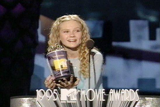 Kirsten Dunst Breakthrough Performance Memorable Movie Awards Moments Photo Gallery Tv Mtv