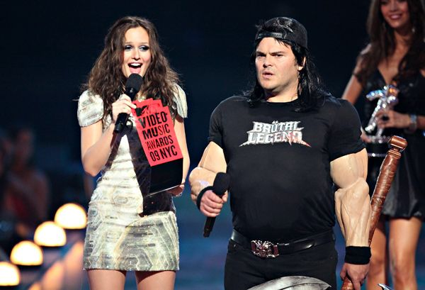 Jack black mtv video awards, bigfoot porn anal