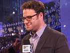 "Seth Rogen Hits The Black CarpetThe svelte funnyman chats with Sway about his upcoming film and what a ""weird, long walk"" the VMAs black carpet was."
