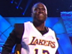 Kevin Hart And Dwight Howard Introduce Presenters Mac Miller And Miley Cyrus