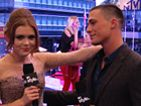 Colton Haynes On The VMA Red Carpet Report