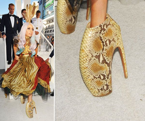 Alexander Mcqueen Scarpe Lady Gaga