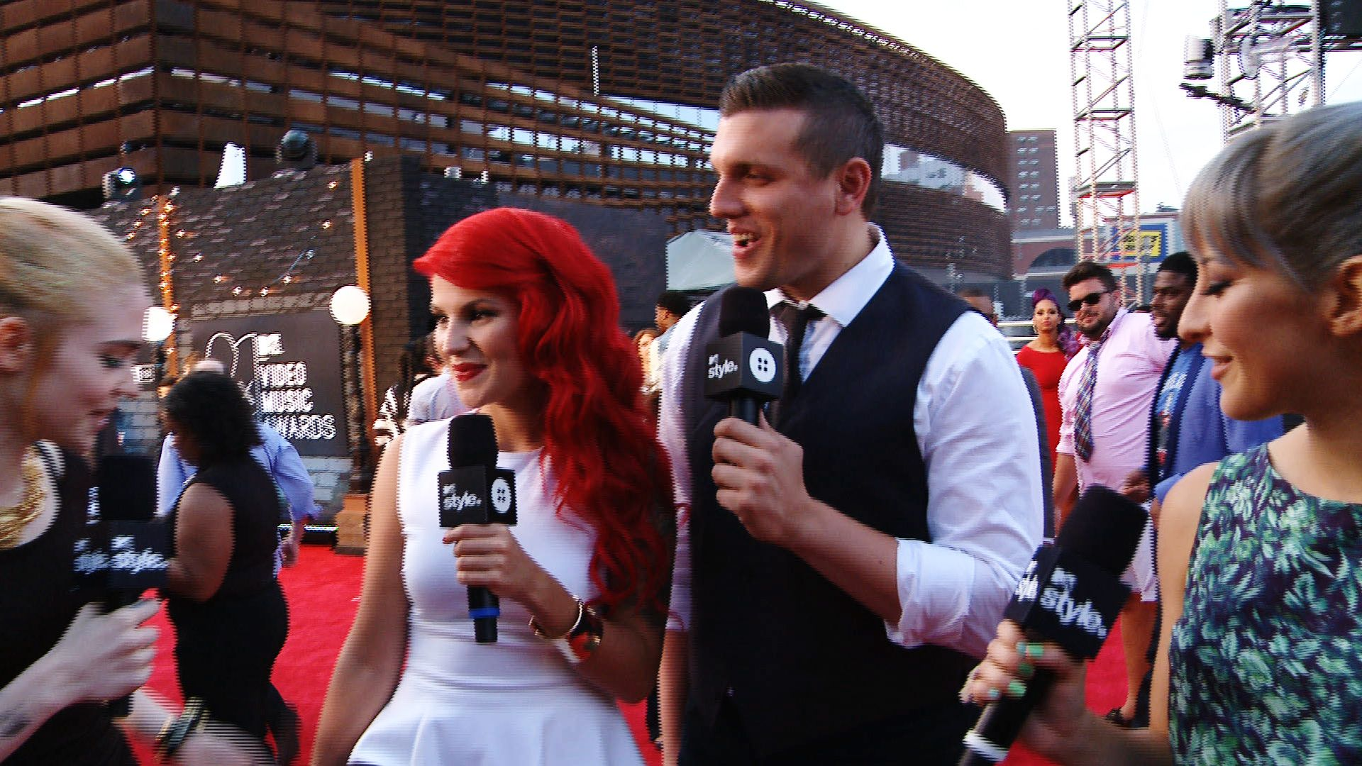 Chris Distefano And Carly Aquilino 2016