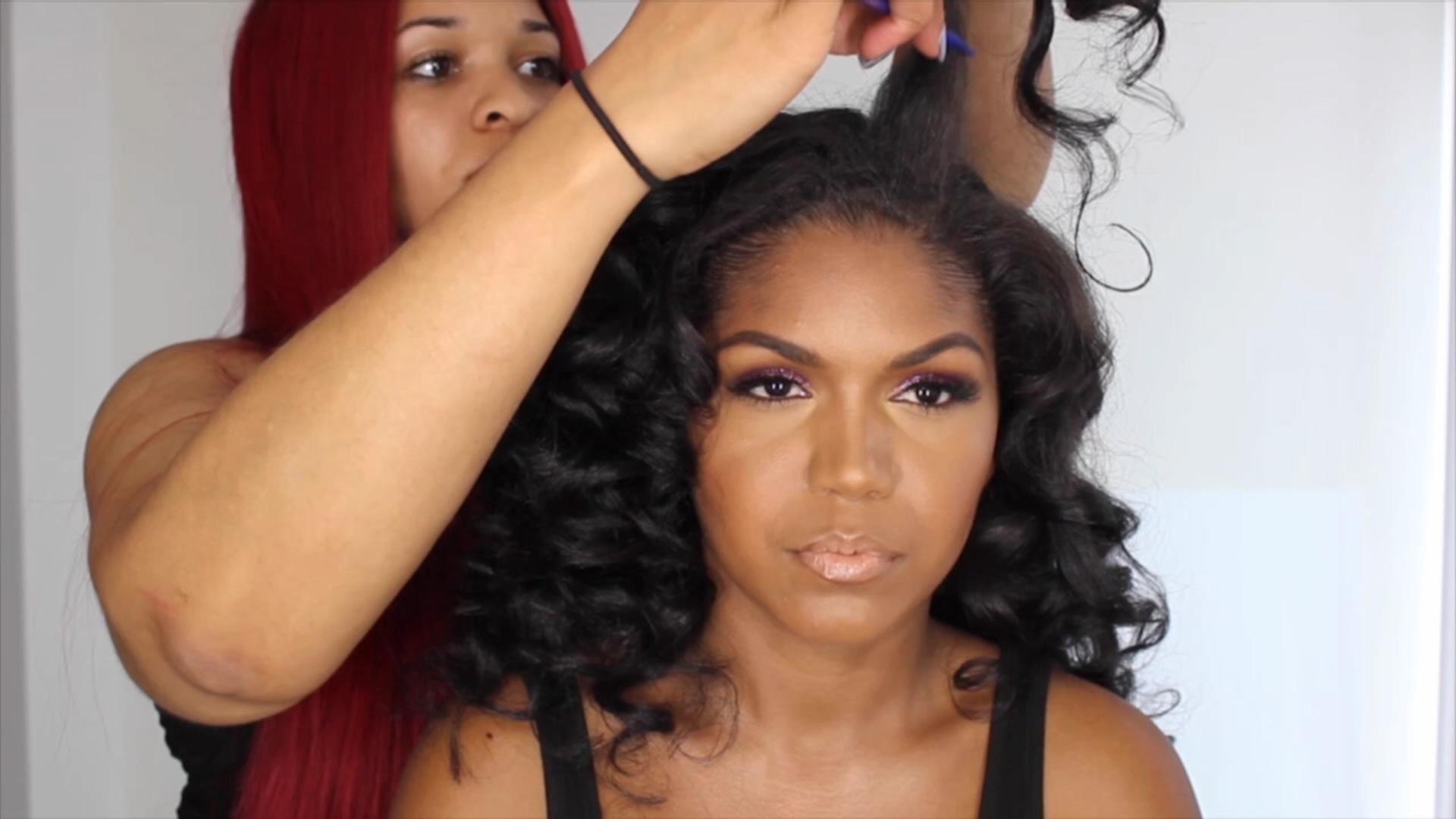 Interview Rasheedas Hair And Makeup Team Explain How To Get Her