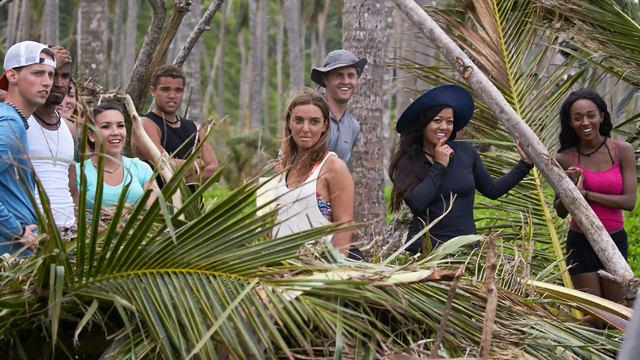Stranded With A Million Dollars Tv Series Cast Members Mtv
