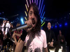 EMA Surprising Moments -- Dave Grohl