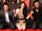 'Breaking Dawn' Stars At Their Hand And Footprint Ceremony