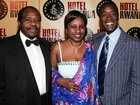 "Don Cheadle, Angelina, Damon At ""Hotel Rwanda"" Premiere 12.02.2004"