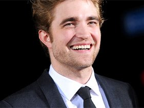 "Robert Pattinson at the ""New Moon"" premiere"