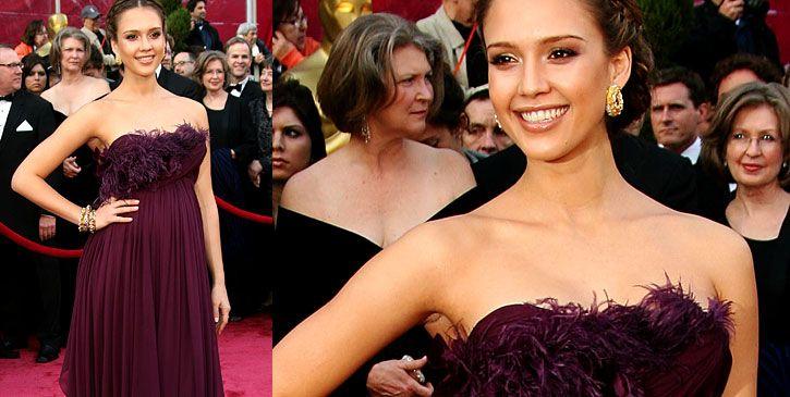 jessica alba oscars 2008. Jessica Alba