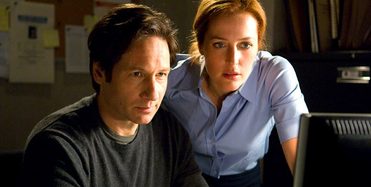 david duchovny x files. David Duchovny as Fox Mulder