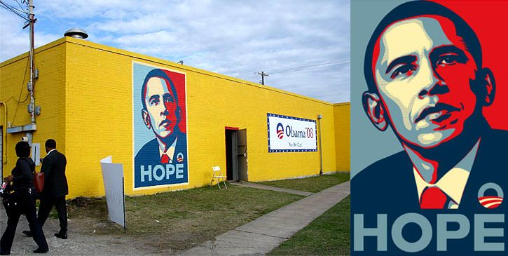 shepard fairey barack obama poster. Barack Obama Inspires The Cool