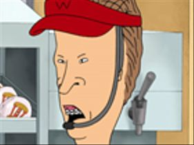 301 moved permanently for Beavis and butthead bathroom break