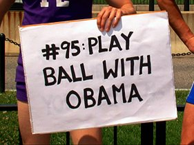 'Play Basketball With Obama'