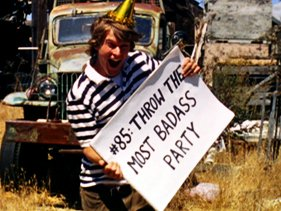 'Throw A Badass Party'