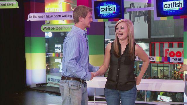 Catfish the tv show season 2 ep the reunion full for Cat fish mtv