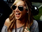 Ashley Tisdale's Reaction