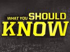 Take The 'What You Should Know' Quiz!