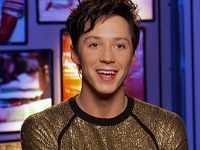 'Johnny Weir, Jackson Rathbone, Keri Hilson'