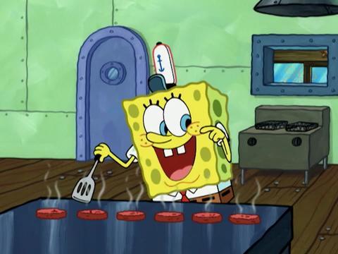 Bob l'éponge, un héros en or : le pâté de crabe parfait