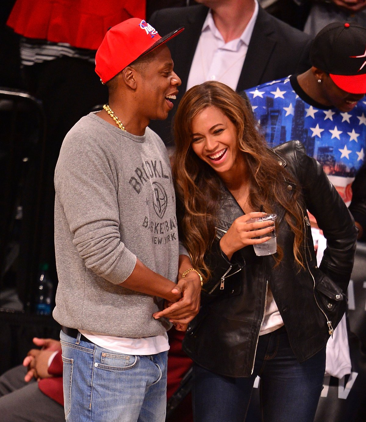 Jay Z And Beyonce Share A Moment
