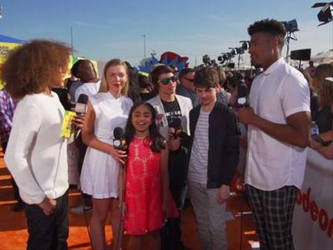 Lookback: Emilia, Saara, Jonny & Jake Orange Carpet Interview