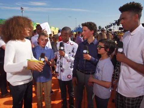 Lookback: Buddy, Coy, Jackie & Rio orange Carpet Interview