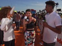 Lookback: Kira Kosarin Orange Carpet Interview