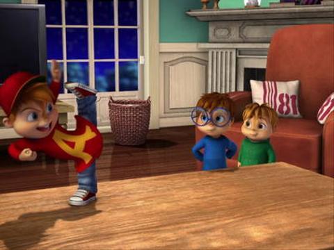 ЭЛВИННН!!! и бурундуки - новое шоу на Nickelodeon!