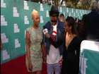 Red Carpet Report: Wiz Khalifa & Amber Rose