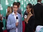 Red Carpet Report: Jackson Rathbone