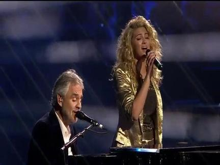 Andrea Bocelli and Tori Kelly, 'Give Me A Reason'