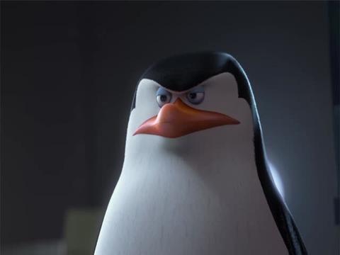 Los Pingüinos de Madagascar:Trivial